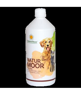 Flüssiges Naturmoor Ergänzungsfuttermittel für Hunde, 1000ml Flasche
