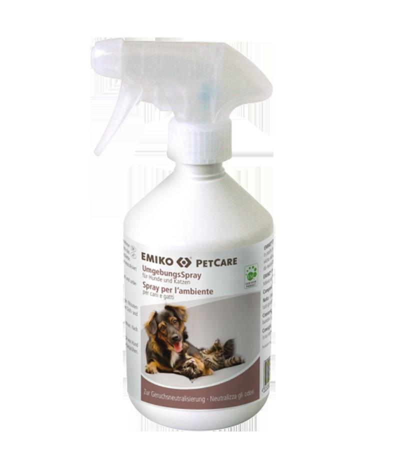 PetCare natürliches Umgebungsspray zur Geruchsentfernung von Emiko