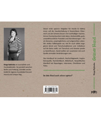 Grüner Hund Buch von Kinga Rybinska aus dem FRED & OTTO - Der Hundeverlag