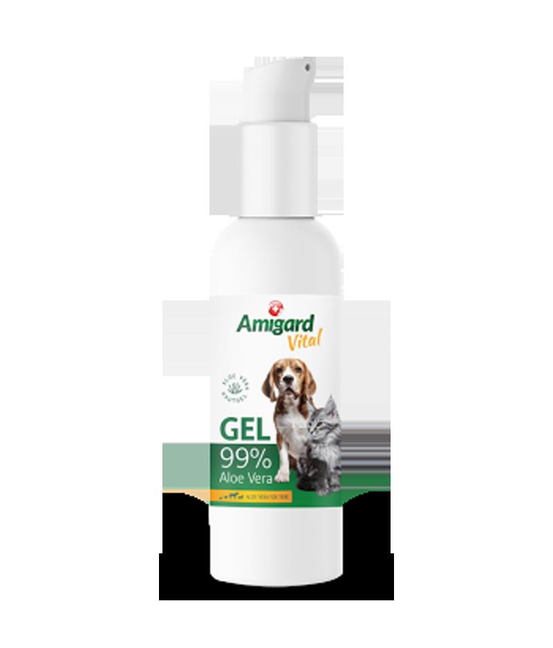 Aloe Vera Gel für Hunde & Katzen von Amigard