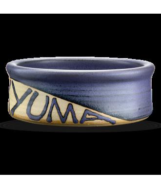 Handgemachter Napf aus Keramik für Hunde & Katzen mit persönlichem Namen