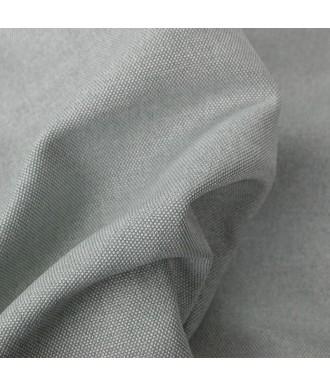 Buddy Wechselbezug in grau aus waschbarem Canvasstoff mit Reißverschluss