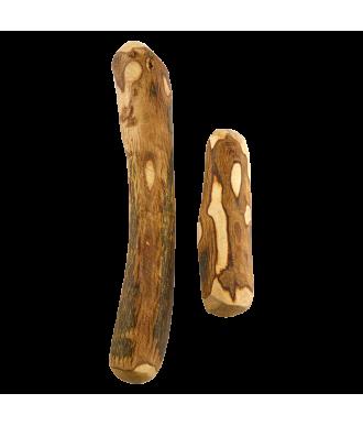 Halbes Olivenbaumholz Kauholz für Hunde in den Größen S und M