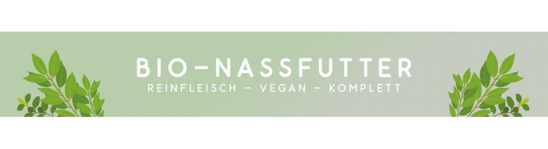 Bio Nassfutter - natürliches Dosenfutter für Hunde